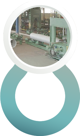 A manufacturing machine for pipes