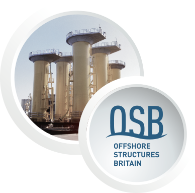 Offshore strucutres britain constuction with OSB logo