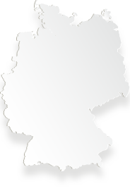 Silhouette of the German map