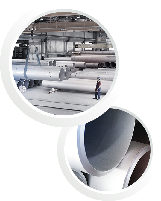 EEW offers SAW pipes for use in LNG storage tanks, LNG carriers, jetties lines, pipelines and pipe-in-pipe transmission lines
