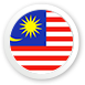 Malaysische Flagge Icon